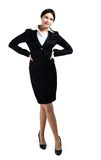 Businesswoman portrait full length Royalty Free Stock Images