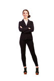 Businesswoman portrait full length Stock Photography