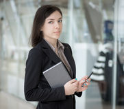 Businesswoman portrait. Stock Image