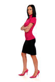 Businesswoman Posing Stock Photo