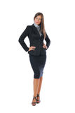Businesswoman posing Stock Photography