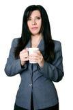 businesswoman poważnie zdjęcie stock