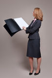 Businesswoman presentation Royalty Free Stock Photo