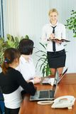 Businesswoman presentation Royalty Free Stock Photography