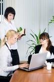 Businesswoman presentation Stock Photography