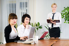 Businesswoman presentation Royalty Free Stock Image