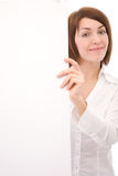 Businesswoman at presentation Royalty Free Stock Photography