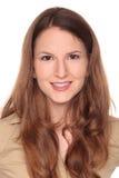 Businesswoman - pretty smile Stock Photos
