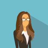 Businesswoman Profile Icon Avatar Fashion Style Female Stock Images