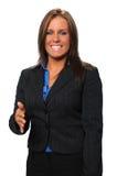 businesswoman przyjacielski Zdjęcie Stock