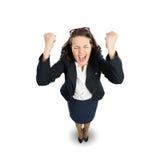 businesswoman radosny Obraz Stock