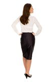 Businesswoman, rear view Royalty Free Stock Photos