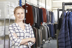 Businesswoman Running On Line Fashion Business Royalty Free Stock Photo