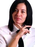 Businesswoman S Opinion Stock Photo