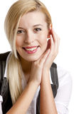 Businesswoman's portrait Stock Photos