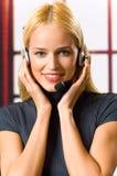 Businesswoman or secretary Royalty Free Stock Photos
