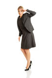 Businesswoman see something interesting Stock Photography