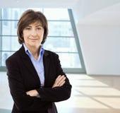 businesswoman senior Στοκ φωτογραφία με δικαίωμα ελεύθερης χρήσης