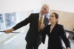 Businesswoman and senior executive. Royalty Free Stock Photos