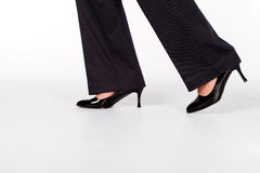 Businesswoman shoes Royalty Free Stock Image