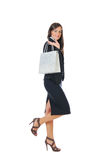 Businesswoman shopping Stock Image