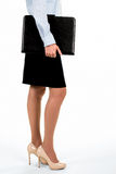 businesswoman side view young Στοκ Φωτογραφία