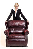 Businesswoman. Royalty Free Stock Photo