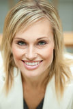 Businesswoman smiling Royalty Free Stock Photo