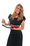 Businesswoman smiling Stock Image