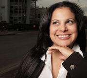 Businesswoman smiling Stock Photography