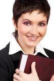 Businesswoman smiling. Royalty Free Stock Image