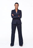 Businesswoman smiling at the camera Stock Photo