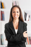 Businesswoman Smiling Royalty Free Stock Images