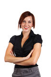 Businesswoman standing Royalty Free Stock Images