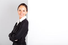 Businesswoman standing Stock Images