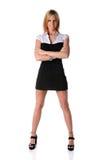 Businesswoman Standing stock image