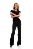 Businesswoman Standing With arms Crossed Royalty Free Stock Photography