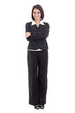 Businesswoman standing with arms crossed Royalty Free Stock Images