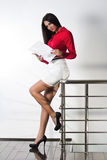 Businesswoman standing Stock Image