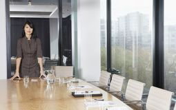 Businesswoman Standing In Conference Room Royalty Free Stock Photo
