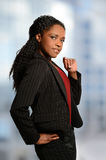 Businesswoman Standing By Window Royalty Free Stock Photography