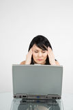 businesswoman stressed στοκ εικόνα με δικαίωμα ελεύθερης χρήσης