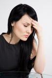 businesswoman stressed στοκ εικόνες