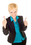 Businesswoman success Royalty Free Stock Image