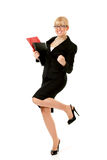 Businesswoman successful Royalty Free Stock Photo