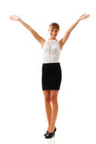Businesswoman successful Royalty Free Stock Photos