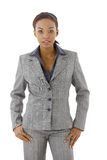 Businesswoman in suit Stock Image