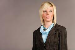 Businesswoman in suit Stock Photos