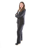 Businesswoman in suit Royalty Free Stock Photos