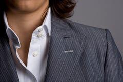 Businesswoman suit detail Stock Image
